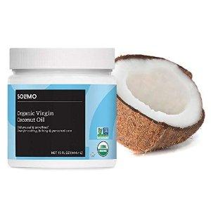 $7.59Amazon Brand Solimo Organic Virgin Coconut Oil 15oz