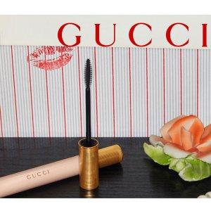 仅€35 时髦小仙女抢先入手上新:GUCCI 2020全新裸粉 X 金超优雅不羁视界睫毛膏来啦
