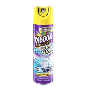 Kaboom Foam-Tastic Bathroom Cleaner with OxiClean, Citrus 19oz