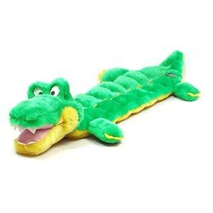 发声毛绒玩具 绿色小鳄鱼