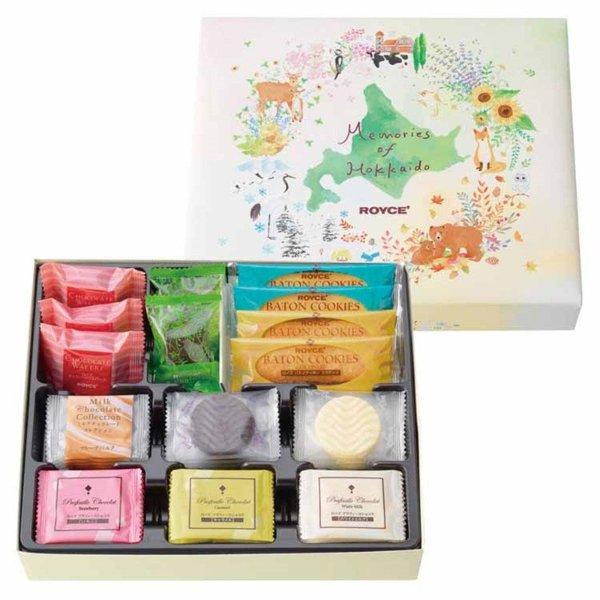 【日本直邮】北海道ROYCE'若翼族 四季巧克力礼盒 40枚装