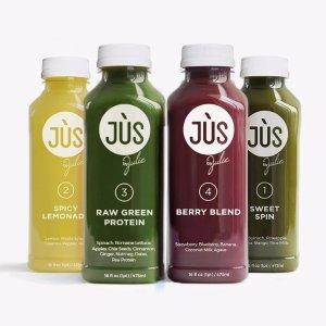 仅$110 + 包邮Jus By Julie 5日JUS 'Til 排毒清肠蔬果汁 + 6瓶Booster Shots