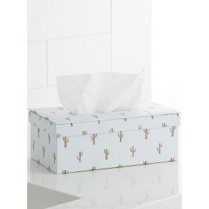 仙人掌纸巾盒