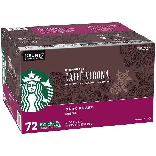 深度烘焙胶囊咖啡 72ct