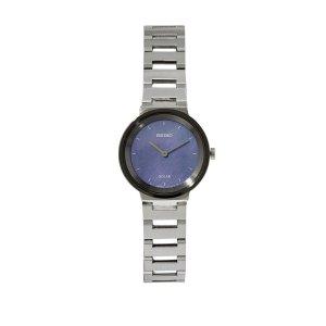 Seiko光动能太阳能钢链手表