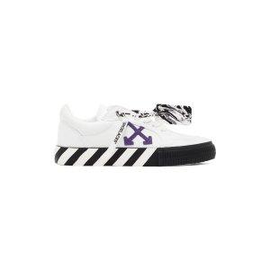 Off-White私密特卖,需登录账号白紫配色运动鞋