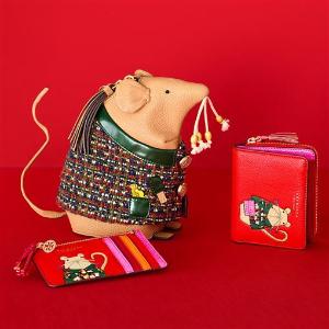 """$138起收新春卡包 红红火火一整年鼠你省钱:Tory Burch 鼠年限定上线 2020就要""""鼠你好看"""""""