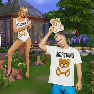 New In!Moschino X SIMS Capsule Collection @Moschino