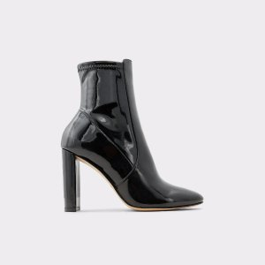 AldoAurellane Black Synthetic Patent Women's Ankle boots & booties | ALDO US