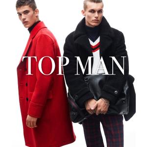 低至5折+ 额外8折 £12速抢冠军经典T恤!限今天:Topman 全场男装、男士配件万圣节闪促
