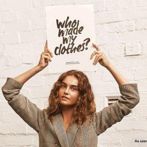 $110起 改变世界,绿色和平David Jones & 时尚革命周 4月22-28日