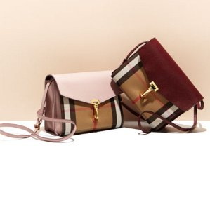 96e72369d72 Burberry House Check Leather Small Macken Crossbody As Low As  600.6 ...