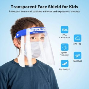 $4.50Sable Kids Safety Face Shield 10 Pack