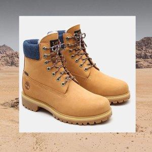 无门槛8.9折 €204淡粉色爆款靴即将截止:11.11 Timberland 秋冬新款闪促 收Timberland x Lee联名款