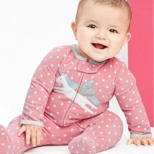 Carter's官网 儿童T恤、连体衣、睡袋、睡衣开门抢购