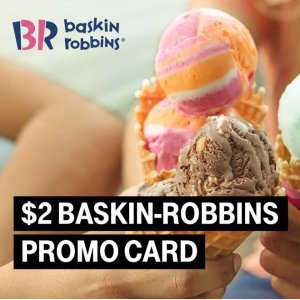 Today Only: $2 Baskin-Robbins CardT-mobile Tuesday Free Gifts