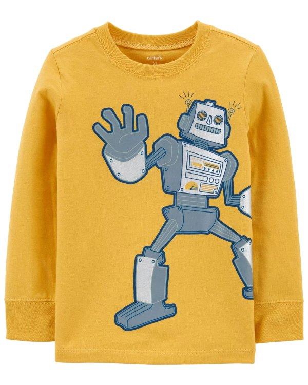 小童机器人T恤