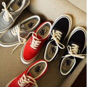 低至4.7折Vans 精选明星酷爱时尚板鞋热卖中 收张艺兴、余文乐等同款