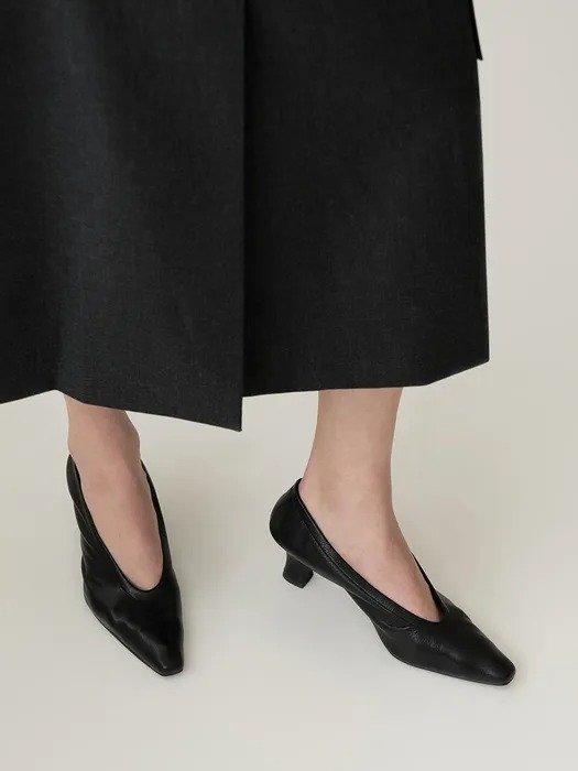 Loiret 小尖头猫跟单鞋