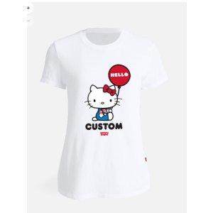 Levi's自定义图案 T恤