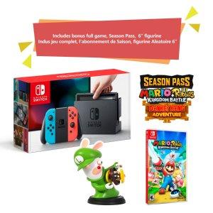 $379.96 这波有点小赚Switch + Kingdom Battle 王国战争 游戏套装 买一赠三