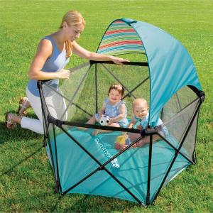 $58.79(原价$119.99)史低价:Summer Infant 便携式婴儿游戏围栏