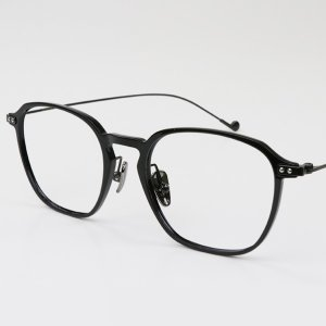 Moonlight | Black Metal Eyeglasses | Online Glasses | Dualens