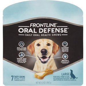 30% Off First AutoshipFrontline Oral Defense Daily Oral Health Chews