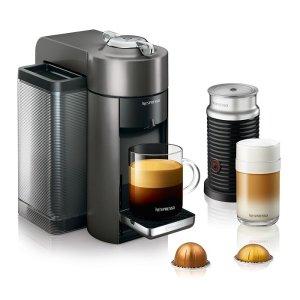 Nespresso胶囊咖啡机 带奶泡机