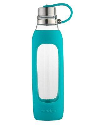 $8.63Contigo 玻璃水壶带硅胶瓶套 20oz