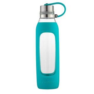 Contigo Purity Glass Water Bottle, 20 oz