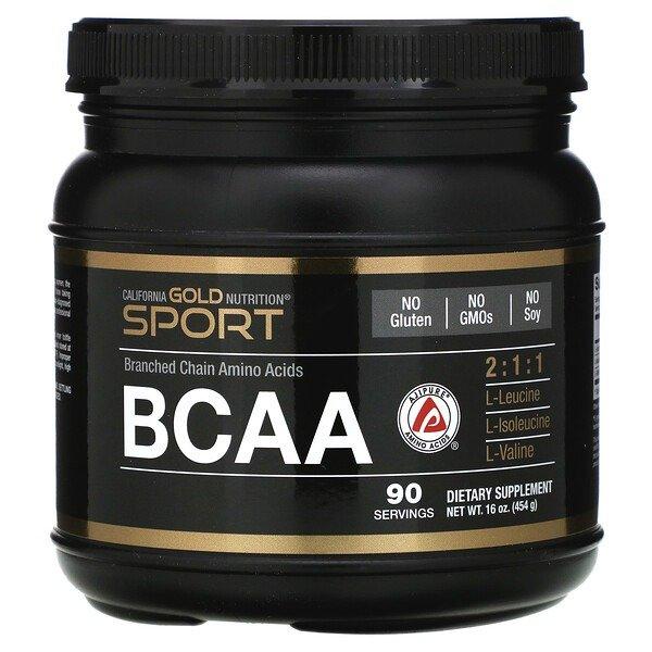 , BCAA 粉 (454 g)