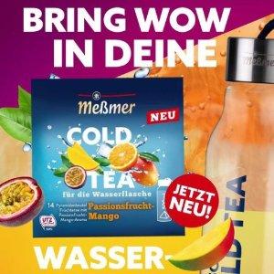 €2.99/盒 健康果味/无糖Meßmer 全新冷泡茶 妈妈再也不用担心你不爱喝水啦