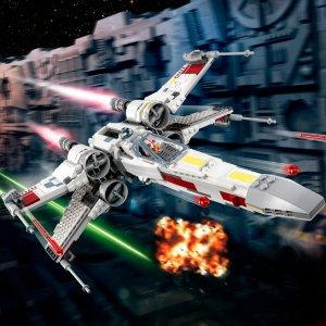 现价£79.99(原价£89.99)LEGO 乐高 星战系列 75218 X 翼星际战斗机