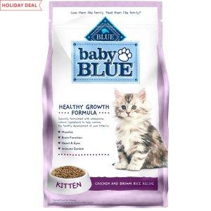 Blue Buffalo鸡肉糙米味幼猫猫粮 5lb