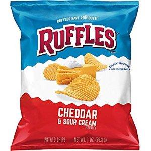 $11.15Ruffles Potato Chips, Cheddar Sour Cream, 1oz (40 Count)
