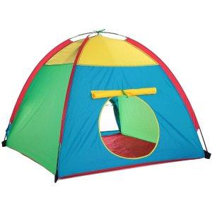 $39.99(原价$45.99)TOMSHOO 便携式儿童玩具帐篷 让宝宝们打造自己的小天地