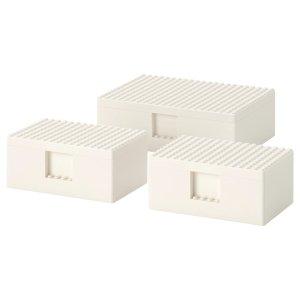 Ikea乐高收纳盒-小号