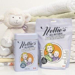 最高立减$30Nellie's 加拿大纯天然苏打洗衣粉促销特卖  韩国宝妈超爱用