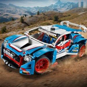 现价£64.99 (原价£89.99)LEGO 科技系列 42077 拉力赛车热卖