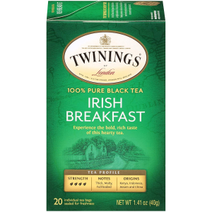 Twinings of London Irish Breakfast Black Tea Bags 120pks