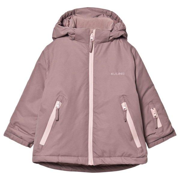 儿童 Lilac/Woody 滑雪外套