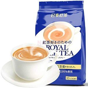 $10 for 20 PouchesTWIN Pack Royal Milk Tea Hot Cold Nitto Kocha