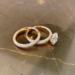 无门槛8.4折Eternity Rings 个性定制钻石戒指 给你的爱独一无二