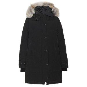 Canada GooseShelburne 毛领羽绒服