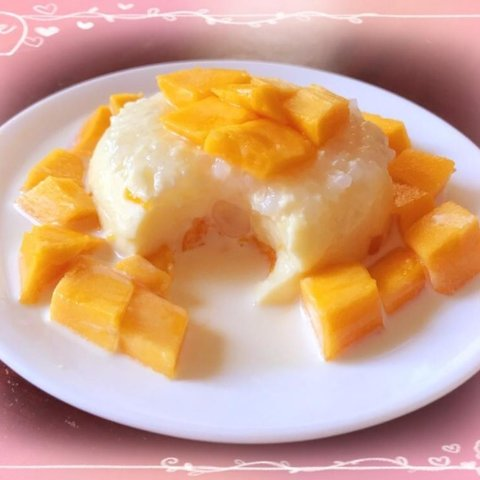 Summer Cool DessertMango Simee Pudding