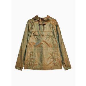 TopmanKhaki Overhead Windbreaker Jacket