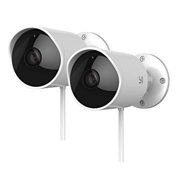 2x1080P 2.4G 户外监控摄像头 支持夜视 双向通话