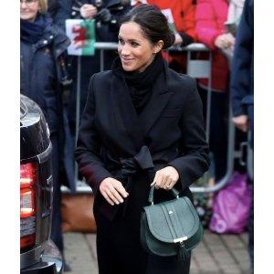 独家85折 收准王妃同款独家:DeMellier London Venice迷你手袋热卖