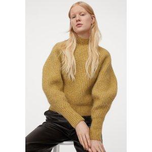 H&M高领毛衣
